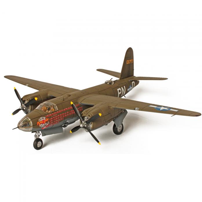 Коллекционная модель Unimax Бомбардировщик B-26B Marauder Бельгия 1945 США 85084