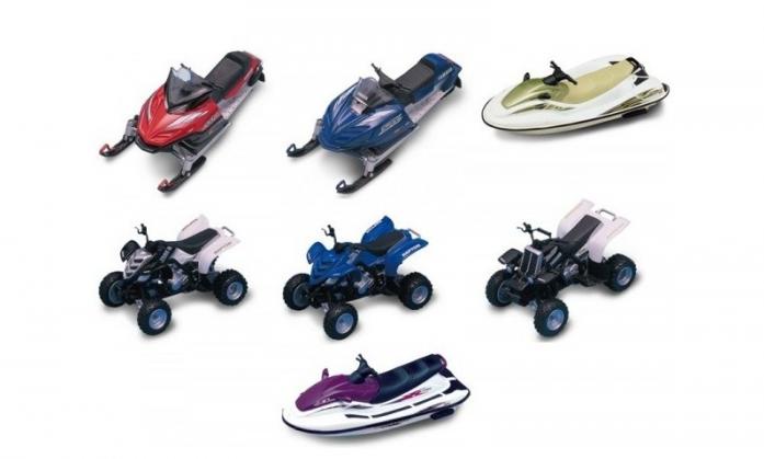 Машинка Yat Ming Сноумобили, скутеры и квадроциклы 21900