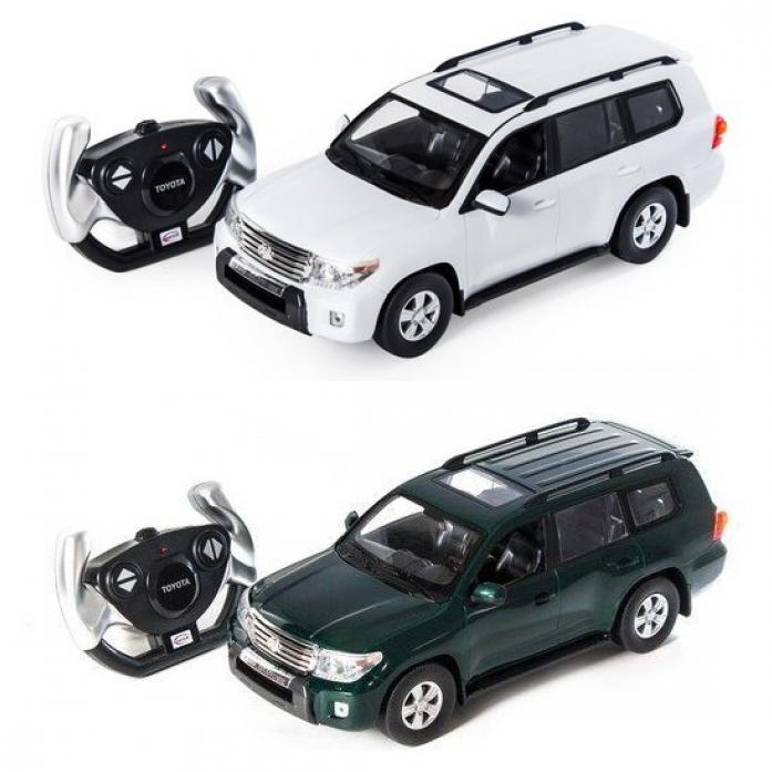 Машинка на радиоуправлении Rastar Toyota Land Cruiser 50200