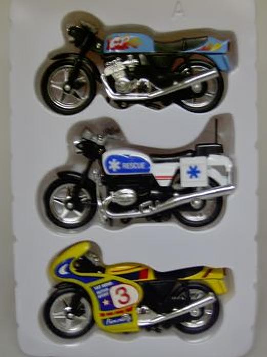 Набор Yat Ming 3 мотоцикла 2000-3G