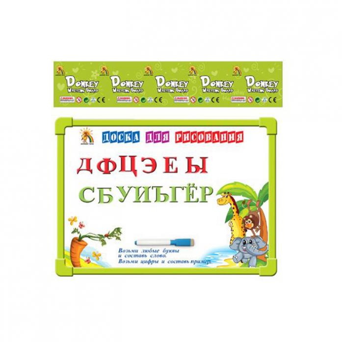 Доска для рисования Shantou Gepai 33 буквы и маркер G8114-2