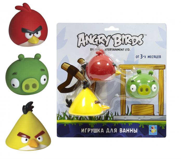 Игрушка для ванной 1toy Angry Birds Т56593