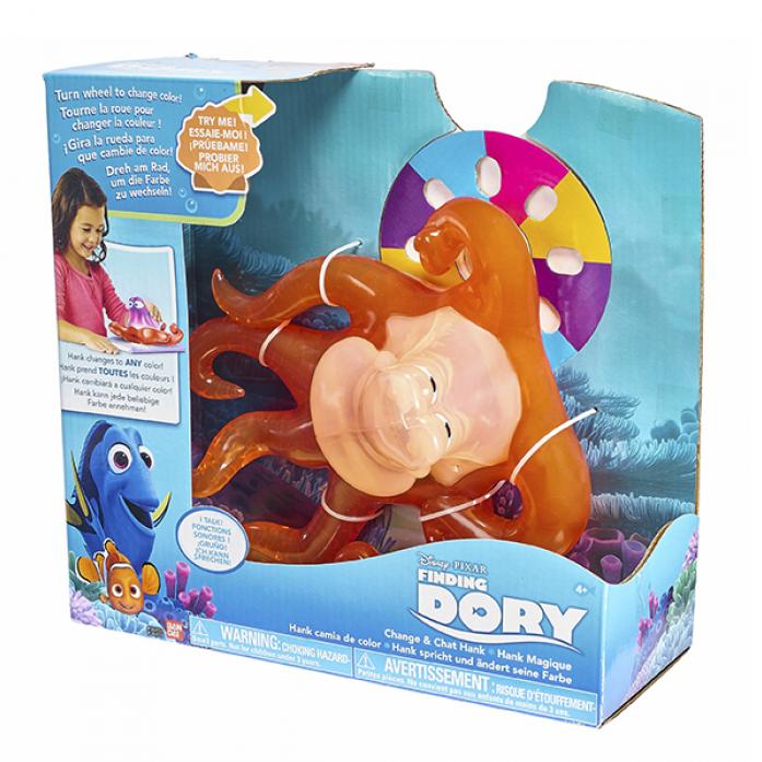 Игрушка интерактивная Finding Dory Хэнк -маскировщик 36450
