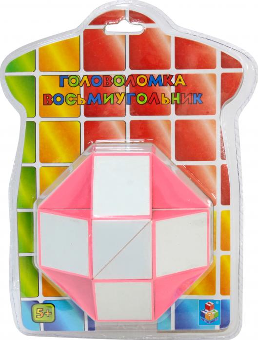 Головоломка 1toy восьмиугольник 3D Т57367