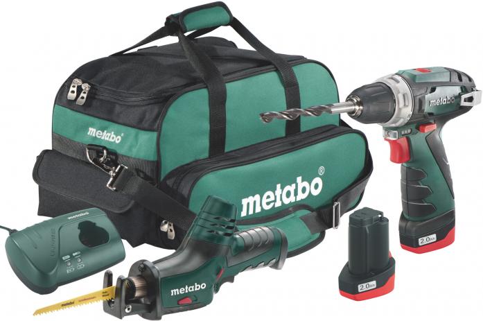 Набор инструмента Metabo Combo Set 2.4 685056000