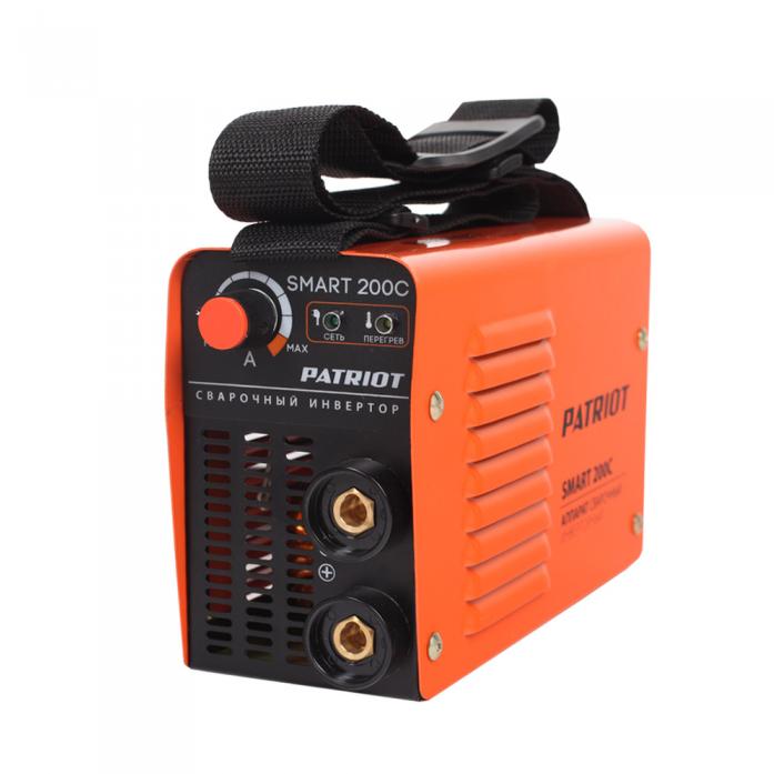 Сварочный аппарат Patriot Smart 200C MMA 605301841