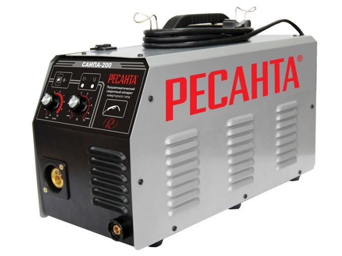 Сварочный аппарат Ресанта инверторный п/а САИПА-200