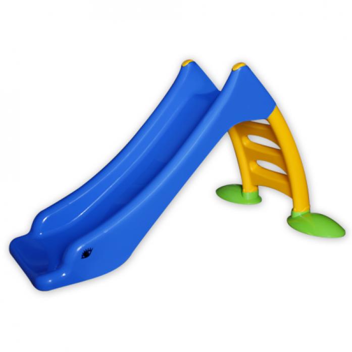 Горка детская Macyszynt Toys Лебедь малая 1010 Синяя