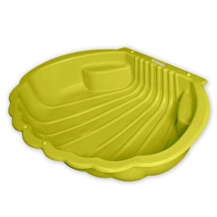 Песочница Macyszynt Toys Ракушка 1249 Желтая