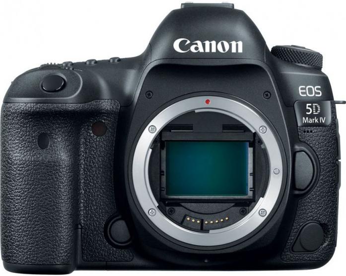 Зеркальный фотоаппарат Canon EOS 5D Mark IV body черный