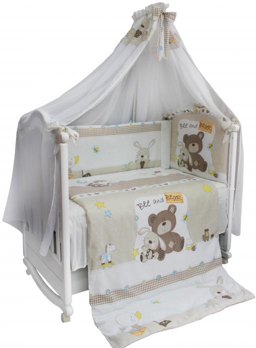 Комплект постельного белья Bombus Amico Мишка 7 предметов 5271
