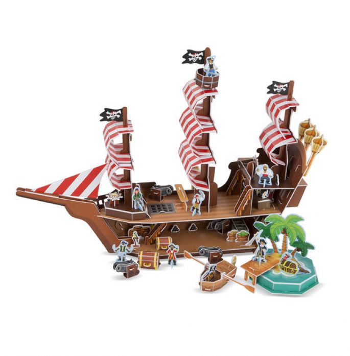 Пазл Melissa&Doug 3D Пиратский корабль 9045
