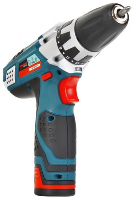 Дрель аккумуляторная Hammer ACD121LE PREMIUM