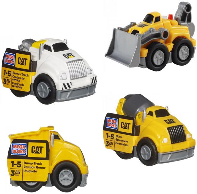 Самосвал Mega Bloks CAT Маленький Caterpillar CYR12