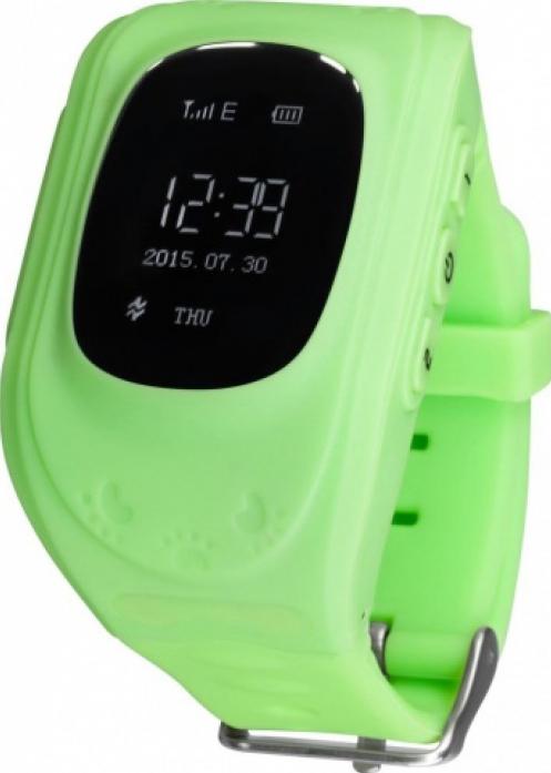 Часы Кнопка жизни GPS трекер K911 зеленые