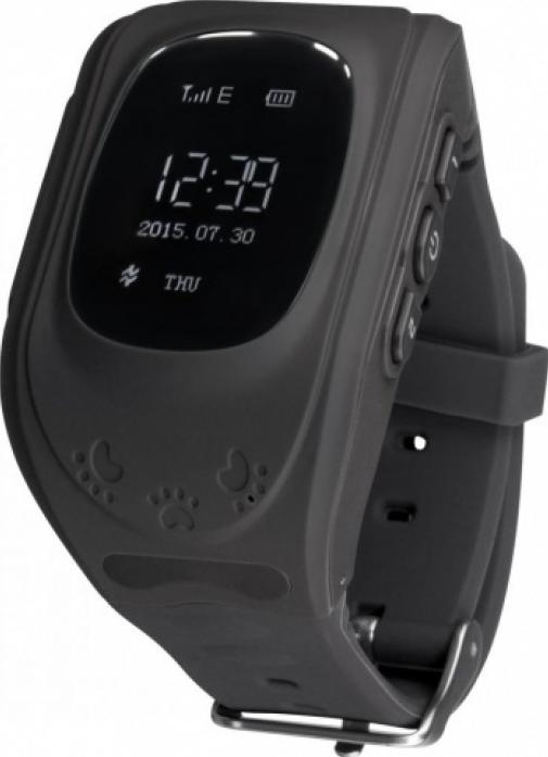 Часы Кнопка жизни GPS трекер K911 черные