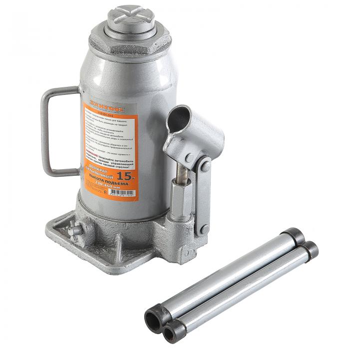 Домкрат гидравлический бутылочный SANTOOL 110101-015