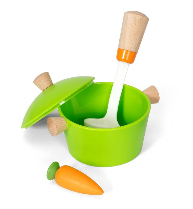 Игровой набор Brio Посуда с деревянными элементами 31433
