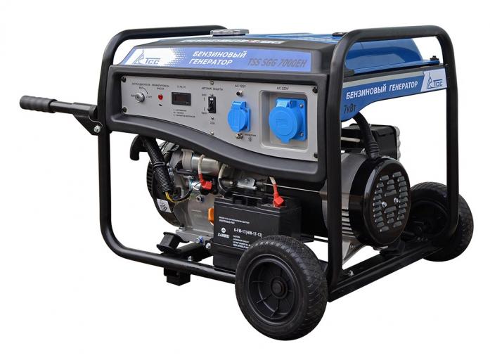 Бензиновый генератор ТСС TSS-SGG-7000ЕН
