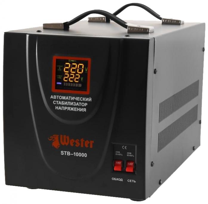 Стабилизатор напряжения Wester STB-10000