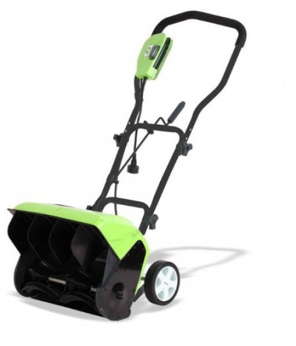 Электрический снегоуборщик GreenWorks GES10 26037