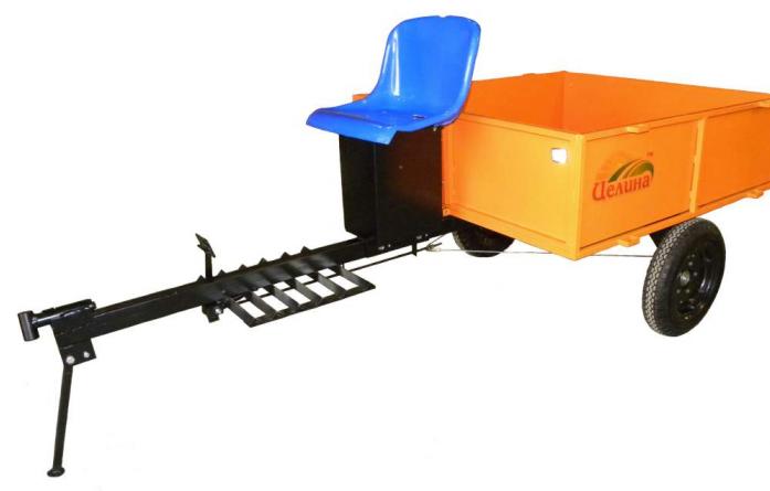 Универсальный прицеп Целина ПМ-02 300 кг ПМ02000
