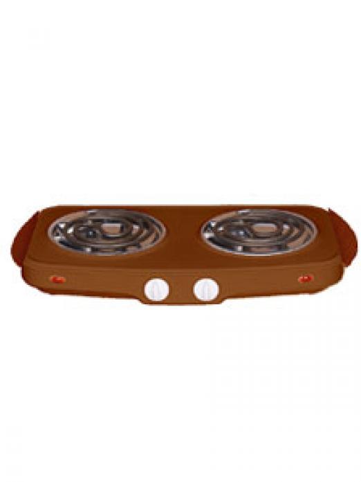 Настольная плита Гомель ЭПТ-2МД-03 коричневая