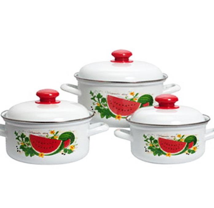 Набор посуды Стэма 124АП2/4 Арбузный фреш