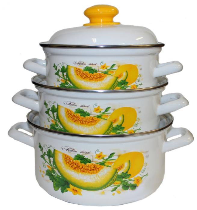 Набор посуды Стэма 124АП2/4 Дынный фреш