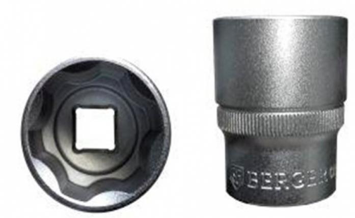 Головка торцевая 1/2 6-гранная Berger BG SuperLock 30 мм BG-12S30