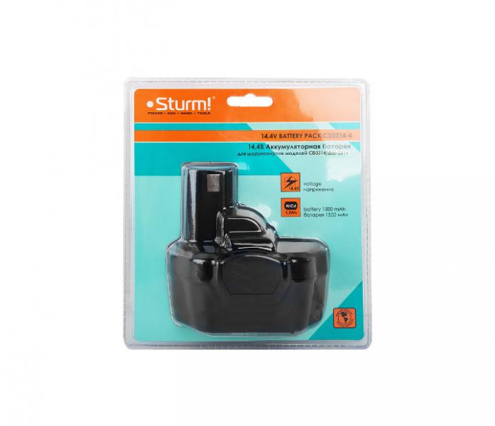 Аккумулятор Sturm 14,4В NiCd для CD3314/ДШ-3314 CD3314-4
