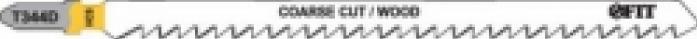 Пилки для лобзика FIT 40942 T344D 2шт
