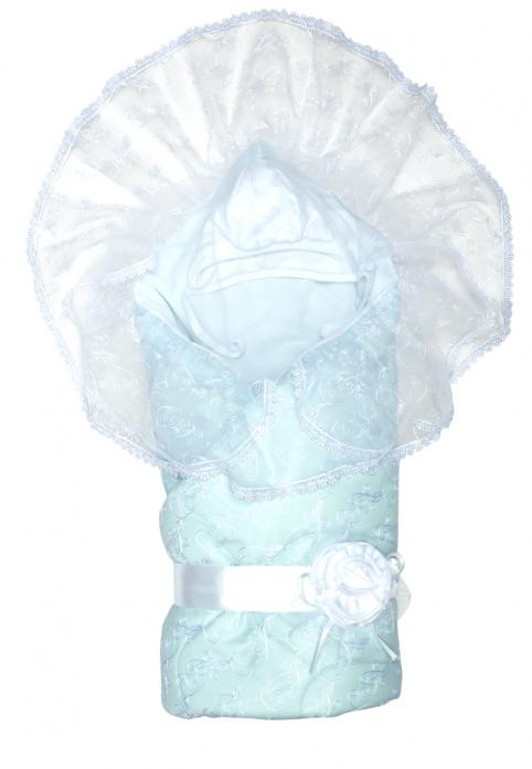 Конверт Сонный Гномик Диамант кружевной 715/1 Голубой