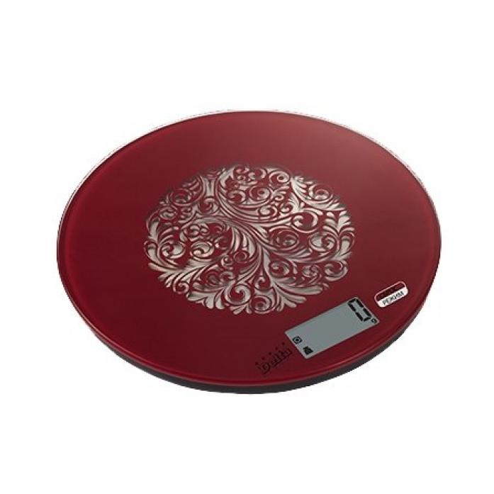 Кухонные весы DELTA КСЕ-15-S322 красный