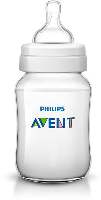Бутылочка из полипропилена Philips Avent 260 мл 1 мес Classic SCF563/17