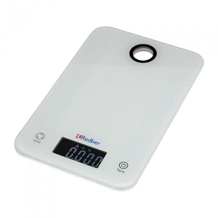 Кухонные весы Redber KS-839 белый