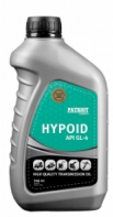 Масла и смазки Patriot Hypoid API GL-4 80W85 0,946 л