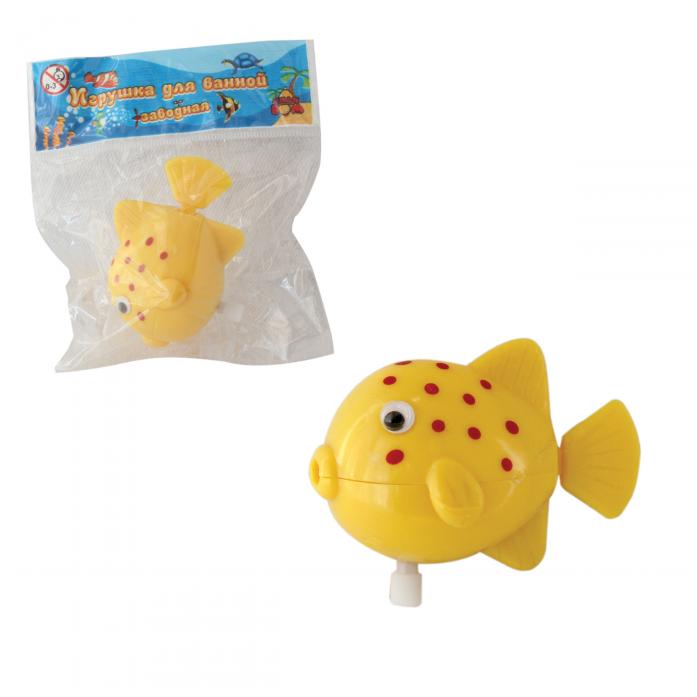 Игрушка для ванной Тилибом Рыбка 7 см Т58994