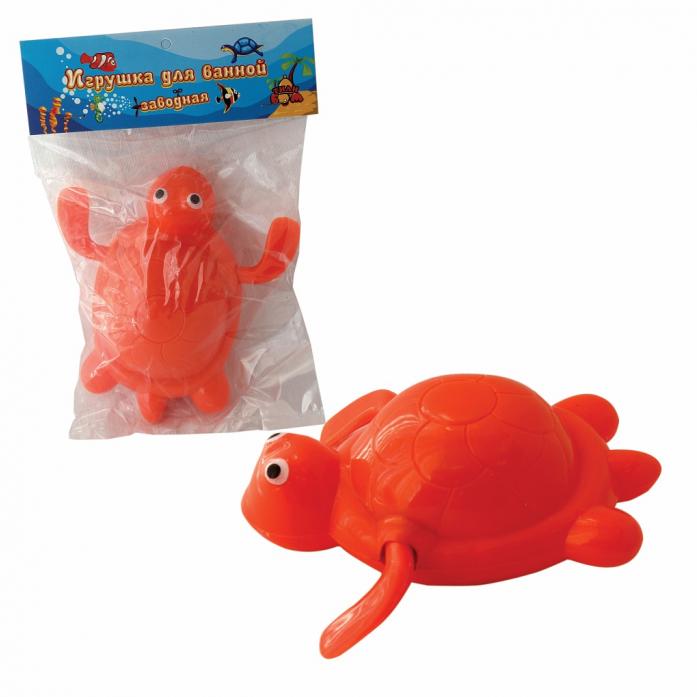 Игрушка для ванной Тилибом Черепаха 9 см Т58998
