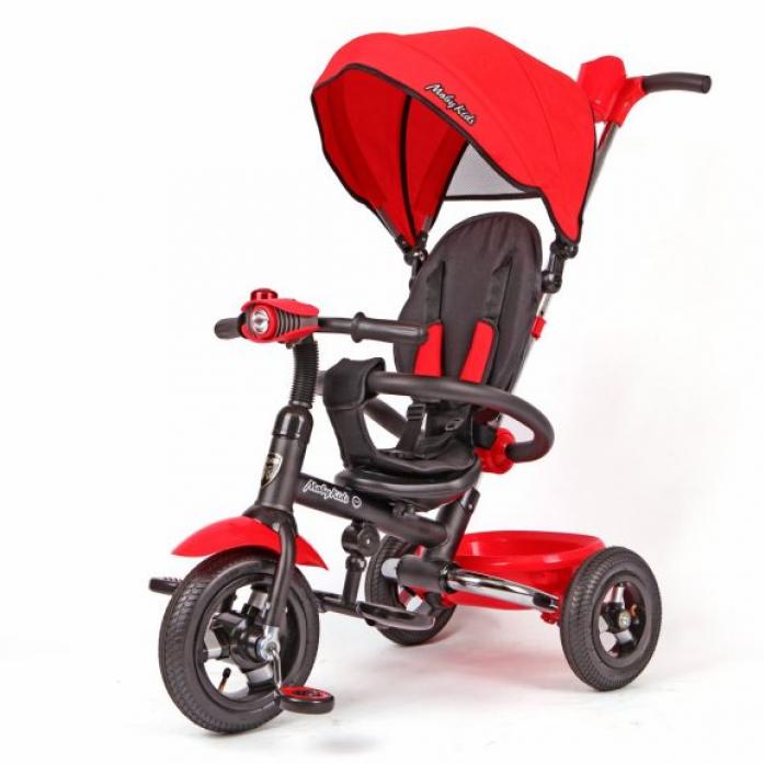 Велосипед Moby Kids Junior-2 красный T300-2Red