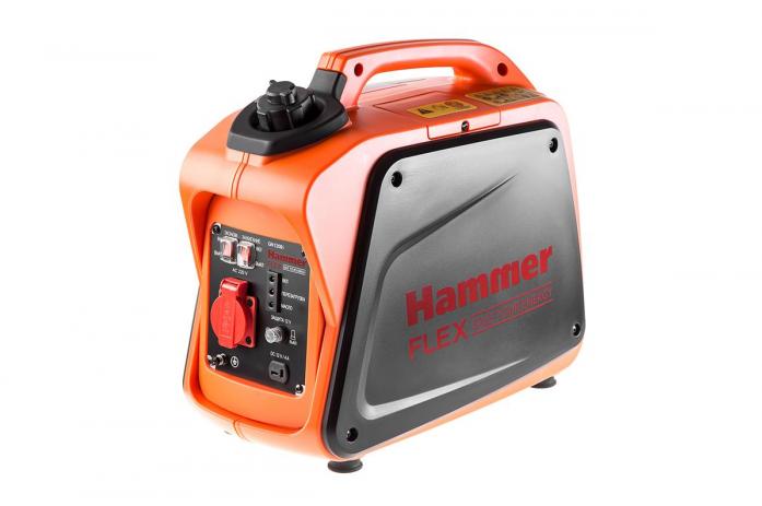 Инверторный бензиновый генератор Hammer Flex GN1200i
