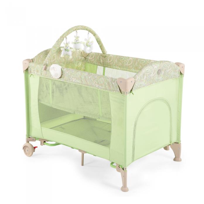 Манеж Happy Baby Lagoon V2 3 в 1 Green