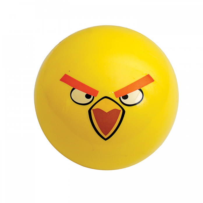 Мяч 1toy Angry Birds Желтая птица 23 см Т56967