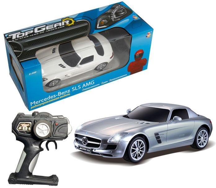 Машинка на радиоуправлении Top Gear Mercedes Benz SLS 1: 18 Т56688