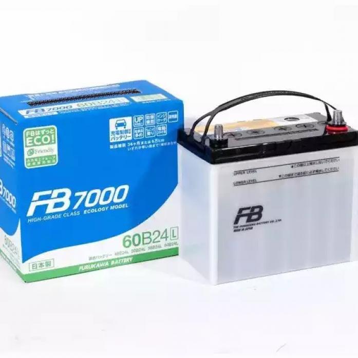Аккумулятор Furukawa Battery FB7000 60B24L левый плюс
