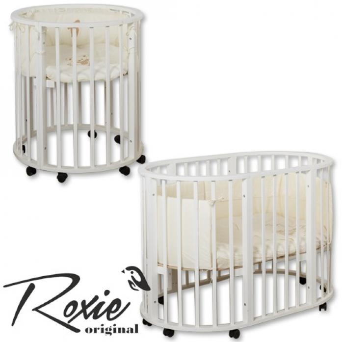 Кровать-трансформер Roxie Incanto 3 в 1 белая