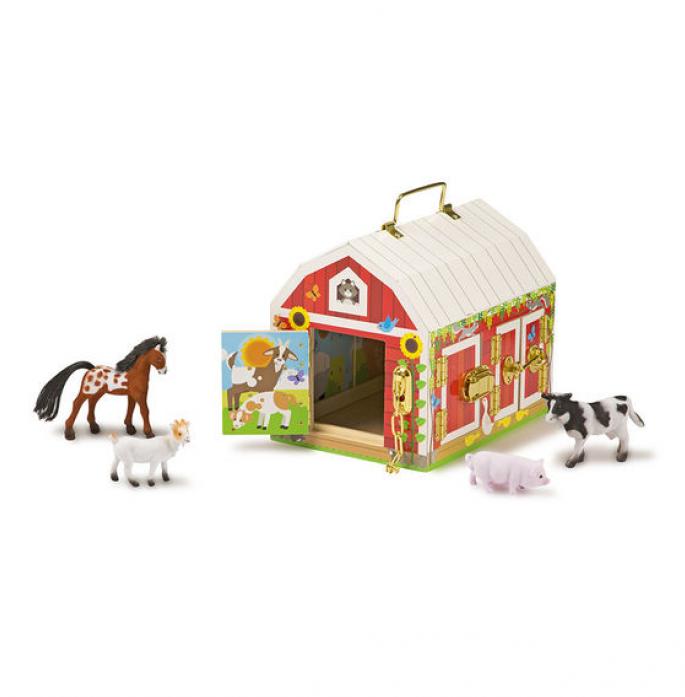 Деревянные игрушки Melissa&Doug дом с замочками 2564