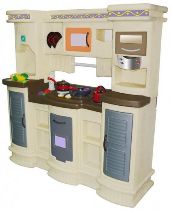 Кухня Lerado серая LAH-705С