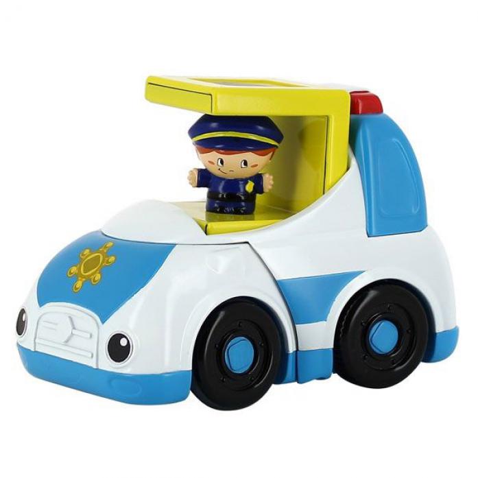Машинка 1toy Kidz Delight Полиция Т55441