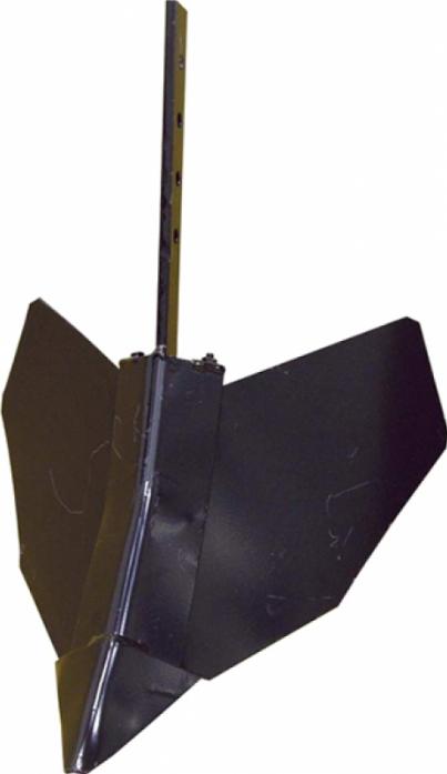 Окучник прямой створчатый Champion через сцеп C3036 C3039 для BC8713